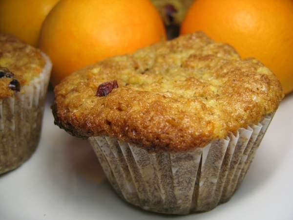 Muffins_orange_canneberges_mini